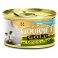 GOURMET GOLD 85 gr Mousse con Vitello (per gattini)
