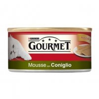GOURMET 195gr Soffice Mousse con Coniglio