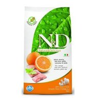 n&d Farmina Crocchette dog grain free prime medium-maxi aringa e arancia 12 kg