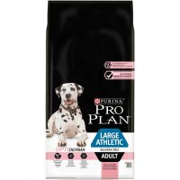 Purina Pro plan large adult Athletic sensitive skin optiderma 14 Kg salmone