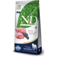 n&d Farmina Crocchette dog grain free medium maxi agnello e mirtillo 12kg