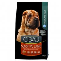 Cibau sensitive lamb medium e maxi 12kg