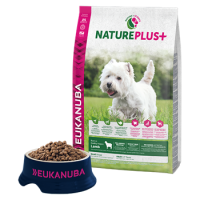 Eukanuba nature plus Adult small lamb 14kg