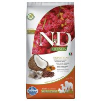 Farmina N&D Quinoa Adult Skin & Coat Aringhe e Curcuma