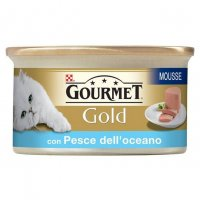 GOURMET GOLD 85 gr Mousse con Manzo anni +7