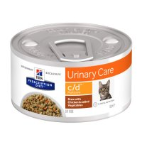 Hill's Prescription Diet c/d Multicare al Pollo e Verdure per Gatti 82gr