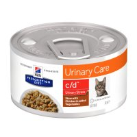 Hill's Prescription Diet c/d Multicare Stress al Pollo e Verdure per Gatti 82gr