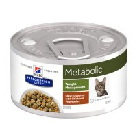 Hill's Prescription Diet Metabolic Verdure e Pollo per Gatti 82g