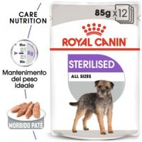 Sterilized umido cane Royal Canin 12x85 loaf