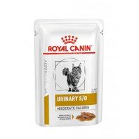 Urinary s/o Moderate calorie buste umido gatto Royal Canin 12x85gr