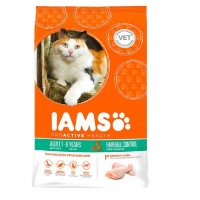 Iams Cat Hairball Control Adult All Breeds Chicken kg 10