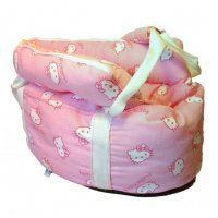 BORSA HELLO KITTY FACCETTE ROSA