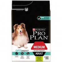 Purina Pro Plan Medium Adult Sensitive digestion Optidigest agnello 3 14 kg