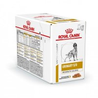 Urinary S/O Moderate calorie buste cane Royal Canin 12x100 gr