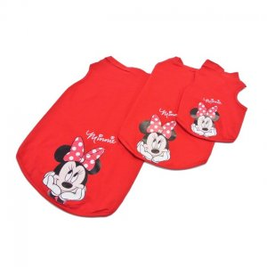 Disney T-SHIRT MINNIE ROSSA