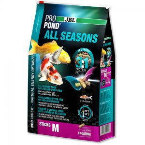JBL PROPOND All Seasons M mangime in pellets completo per tutti i pesci da laghetto