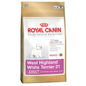 Cibo per Cani Westie WEST HIGHLAND / WHITE TERRIER [21] Royal Canin
