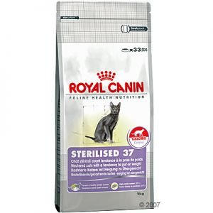 cibo per gatti sterilised 37 royal canin royal canin. Black Bedroom Furniture Sets. Home Design Ideas