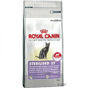 cibo per gatti sterilised 37 royal canin royal canin. Black Bedroom Furniture Sets. Home Design Ideas