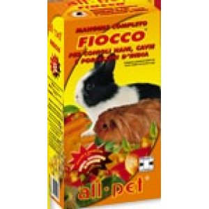 All-pet Fiocco alimento completo per conigli nani e cavie gr 800