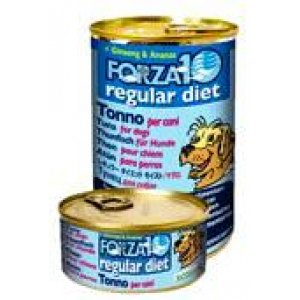 Forza 10 regular diet tonno ginseng e ananas cane 6x420gr