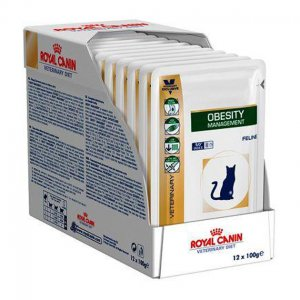 Obesity management gatto Royal Canin 12x100 gr