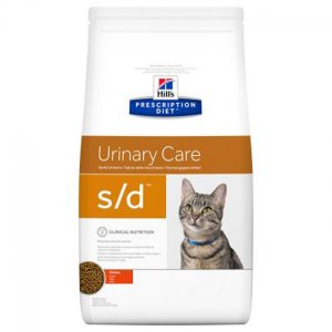 Hill\'s feline S/D 1,5 kg secco