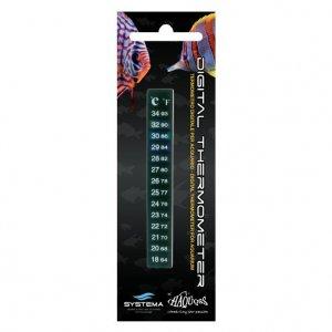 Termometro per acquari 3code pratico e comodo con doppia for Termometro per acquario tartarughe