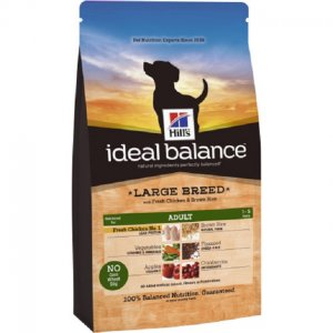 Hill\'s Ideal Balance Adult per cani Large Breed pollo e riso integrale