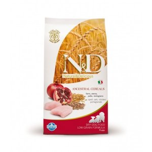n&d Farmina Crocchette dog medium Ancestral puppy pollo e melograno 12kg