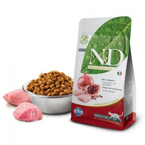 Farmina N&D gatto grain free pollo melograno 5Kg