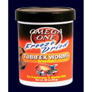 Omega one tubifex worms 300ml