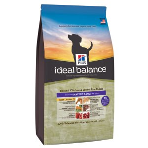 Hill\'s Ideal Balance Mature per cani Pollo fresco e riso integrale