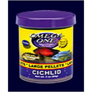 Omega one Cichlid medium pellets 150ml