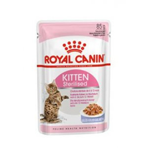 Sterilised Kitten Jelly Royal Canin 12x85 gr