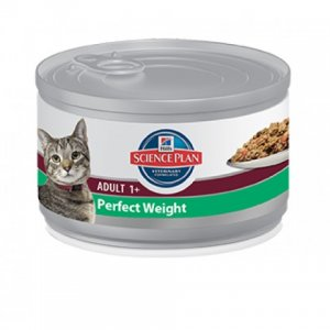 Hill\'s Science Plan gatto adult Perfect Weight 82gr