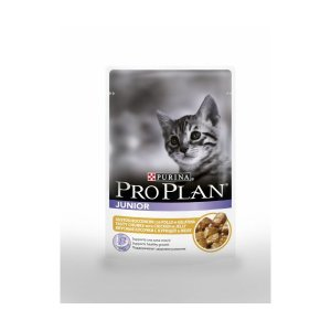 Purina Pro Plan Junior cat bustine in gelatina con pollo 85 gr