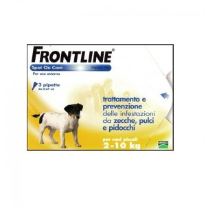 Frontline spot on antiparassitario Cani 2-10 Kg