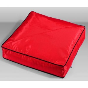 Cuscino per cani haf outdoor 70x70cm rosso