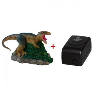 Haquoss decorazione dinosauro 4 con areatore