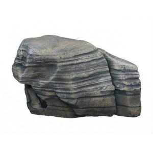 Decorazione silver rock 6 17x7,5x10,8cm