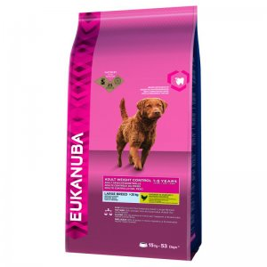 Eukanuba Dog Weight Control Adult Large Breeds Chicken kg 12