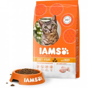 Iams Cat Base Adult All Breeds Chicken kg 10 15