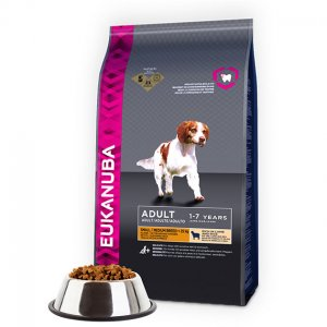 Eukanuba Dog Base Adult Small & Medium Breeds Lamb & Rice kg 12
