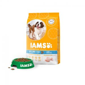 Iams Dog Base Puppy Large Breeds Chicken kg 12
