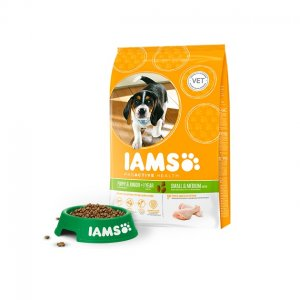 Iams Dog Base Puppy Small & Medium Breeds Chicken kg 12