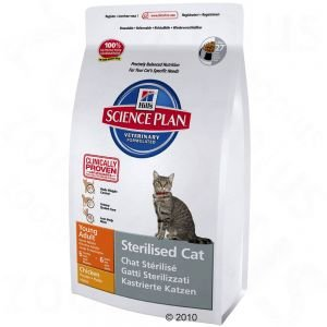 Hill\'s feline Sterilised cat young adult 300 gr tonno