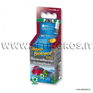 JBL Nano Biotopol Betta 15 ml -180 l - (Biocondizionatore Betta)