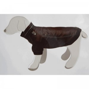 Cappottino in pelle max per cani camon