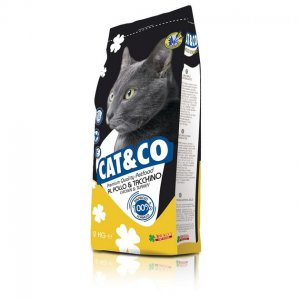 Cat & co Adult gatto kg 2 pollo e tacchino